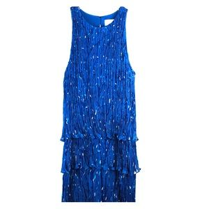 Adam Lippes Silk Sleeveless Periwinkle Dress